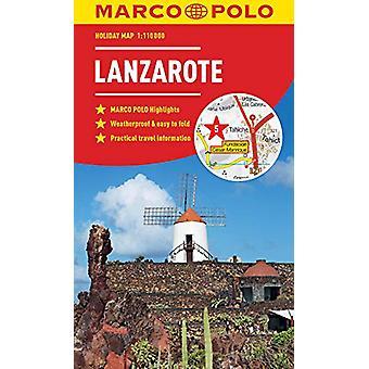 Lanzarote Marco Polo Holiday Map by Marco Polo - 9783829770354 Book