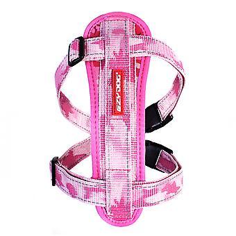 Ezydog Harnais Chest Plate Pink Camu (Chiens , Colliers, laisses et harnais , Harnais)