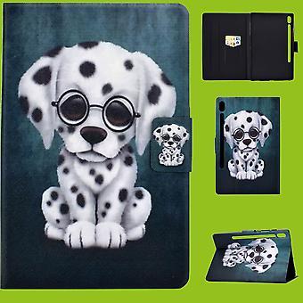 Für Samsung Galaxy Tab S6 Lite P610 P615 Motiv 56 Tablet Tasche Kunst Leder Hülle Etuis