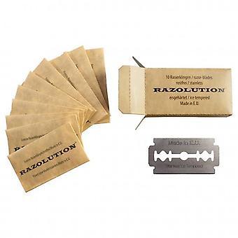 100x Razolution Double Edge Razor Blades
