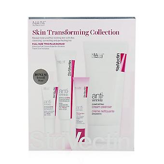 StriVectin Skin Transforming Collection (Full Size Trio):  Cleanser 150ml + Eye Concentrate (30ml+7ml) + Eyes Primer 10ml 4pcs