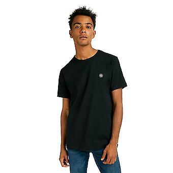 Pretty Green Mens Core Katoen T-Shirt - Black-M