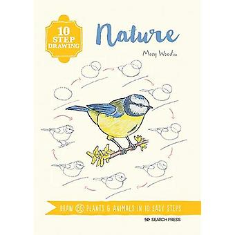 10 Step Drawing - Nature - Dessiner 60 plantes & Animaux en 10 easy step