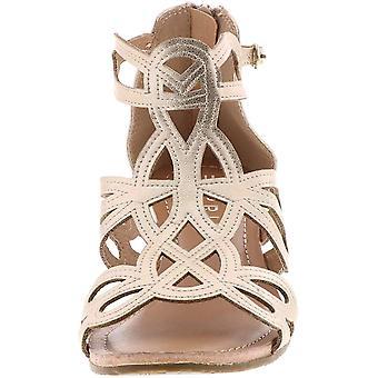 ESPRIT Frauen's Schuhe Charlotte Wildleder Peep Toe Casual Knöchel Strap Sandalen