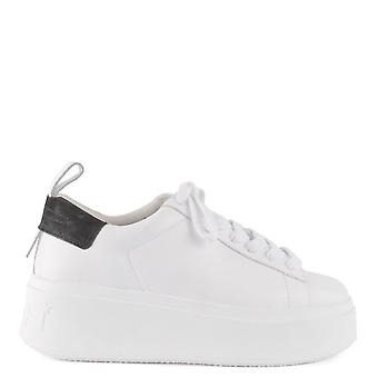 Ash Footwear Moon White And Black Platform Trainers