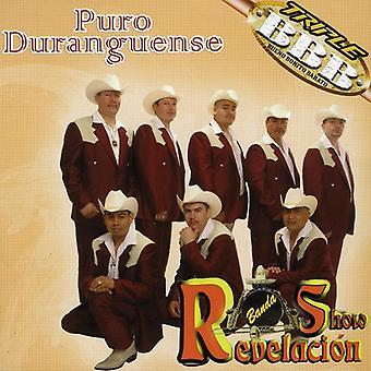 Banda Show Revelacion - Puro Duranguense [CD] USA import