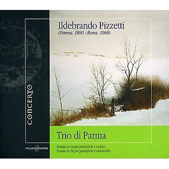I. Pizzetti - Ildebrando Pizzetti: Sonatas for Piano & Violin [CD] USA import