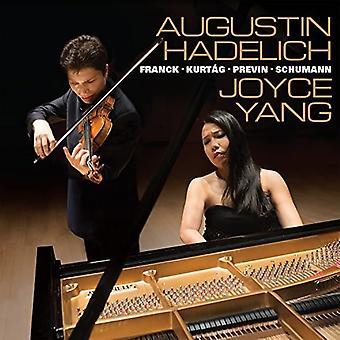 Hadlich, Augustin / Yang, Joyce - Works for Violin & Piano by Franck Kurtag Previn & Schumann [CD] USA import