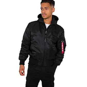 Alpha Industries Bomber Giacca uomo MA-1 - Stampa posteriore