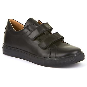 Froddo Boys G4130068 School Shoes Black Leather