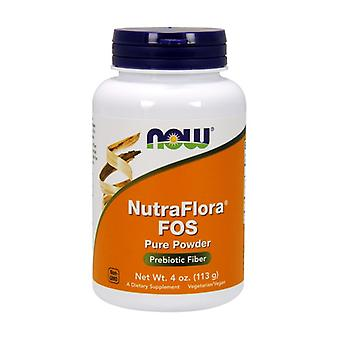 100% Nutra Flora TM FOS (Fructooligosaccharides) 113 g of powder