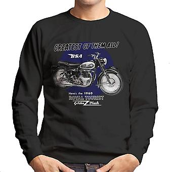 BSA Greatest Of Them All Golden Flash Men's Sweatshirt
