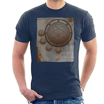 The Crystal Maze Second Good Feeling Rust Panel Men's T-Shirt