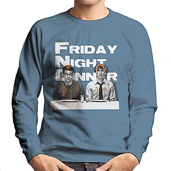 Friday Night Dinner Adam And Jonny Men's Sweatshirt