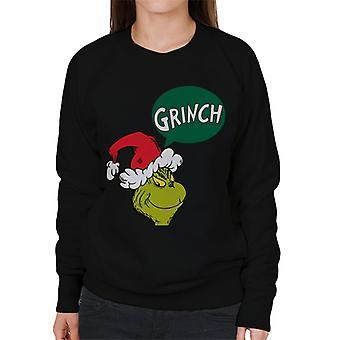 The Grinch Speech Bubble Women's Sweatshirt