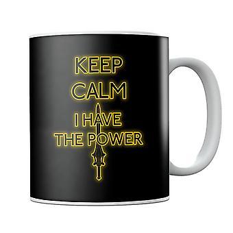 Mantenere la calma hanno il potere Heman tazza