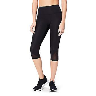 Brand - Core 10 Women's Race Day High Waist Run Mesh Capri Legging - 1...