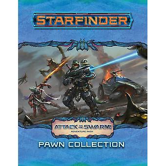 Starfinder Pawns Attack of the Swarm Pawn Collection by Staff & Paizo