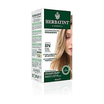 Coloration Ljus blond permanent gel 8N 150 ml (ljusblond)