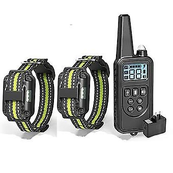 Electric Dog Training Collar With Lcd Display - Pet Remote Control Rechargeable