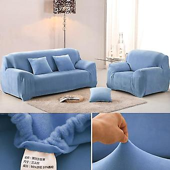 Pluche Dikker Stretch Corner Elastic Couch Sofa Cover voor woonkamer