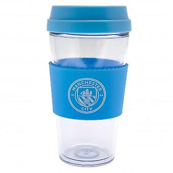 Manchester City Clear Grip Travel Mug