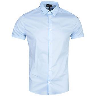 Emporio Armani Camicia Blue Shirt