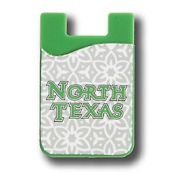Severní Texas Střední Zelená NCAA Módní mobilní telefon Peněženka