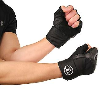 Fitness Mad Weight Lifting Glove Wrap Black Weight Lifting Accessory For Heavy