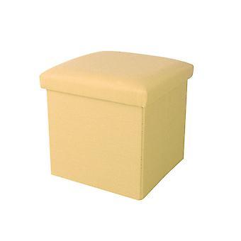 Faltung Aufbewahrung Hocker mit Cover Square Footstool Couchtisch