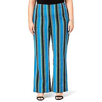 INC | Striped Wide-Leg Pants