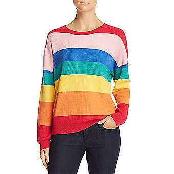 Honey Punch | Rainbow Stripe Sweater