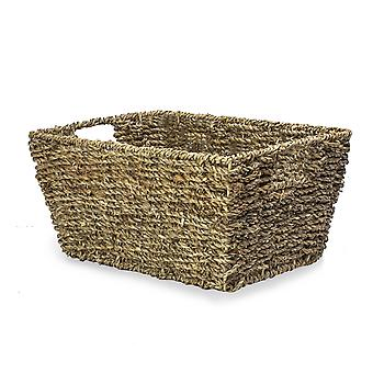 Natural Seagrass Storage Basket | M&W Set of 1