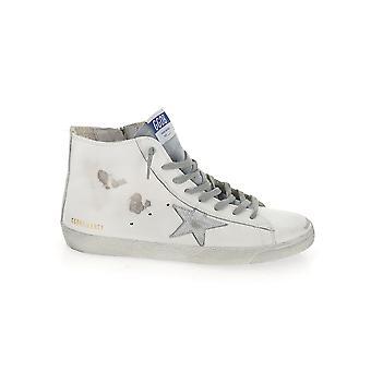 Goldene Gans Gmf00113f00031910274 Herren's Weißes Leder Hi Top Sneakers