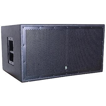 """Delta dual 12"""" active powered subwoofer 1000w rms 18mm birch plywood"""