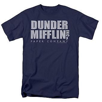 Het Office Dunder Mifflin Distressed T-shirt