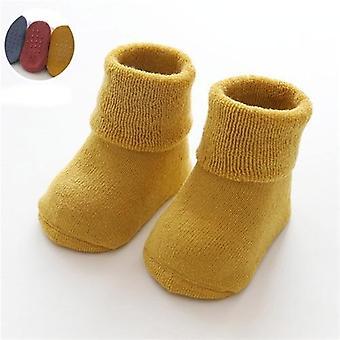Anti Slip, Winter Warm Thick Socks For Newborn Bab