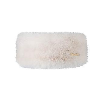 Barth, bandeau fourrure - blanc
