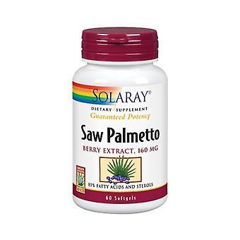 Estratto di bacche di Solaray Saw Palmetto, 160 mg, 60 Softgel