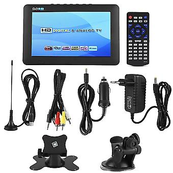 Portable Car Holder, Mini Dvb-t/t2 Digital Television With Stand Support 1080p