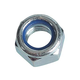 Forgefix Nyloc Nuts & Washers Zink vergulde M12 Forge Pack 6 FORFPNYL12