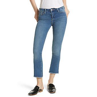 Freie Leute | Raw Saum gerade abgeschnitten Jeans