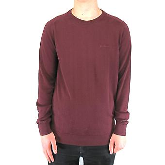 Port Burgund Crew-Neck Jumper