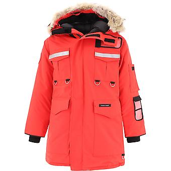 Canada Goose Cg8501m3511 Men's Red Polyester Outerwear Jacket