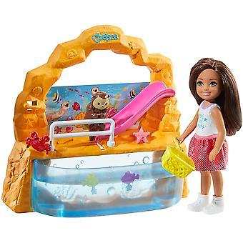 Barbie Club Chelsea Dukke Akvarium Lekesett