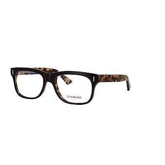 Cutler and Gross 1362 03 Black on Camouflage Glasses