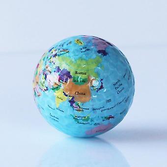 Globo mapa Imprimir Earth Golf Ball- Entrenamiento de práctica para principiantes en interiores / exteriores