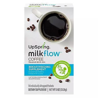 Milkflow upspring coffee sticks, 14 ea