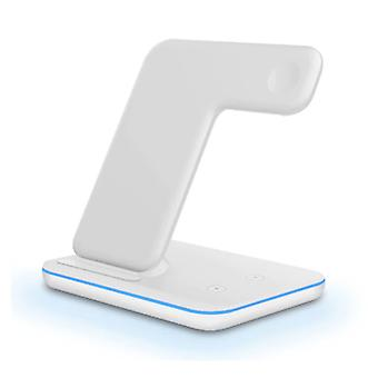 DCAE 3 in 1 Charging Station for Apple iPhone / iWatch / AirPods - Charging Dock 15W Wireless Pad White