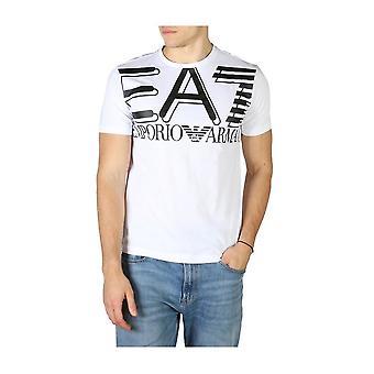 EA7 - ملابس - تي شيرت - 3HPT09_PJ02Z_1100 - رجال - أبيض, أسود - M